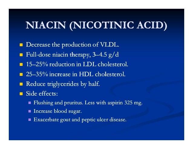Niacin gout