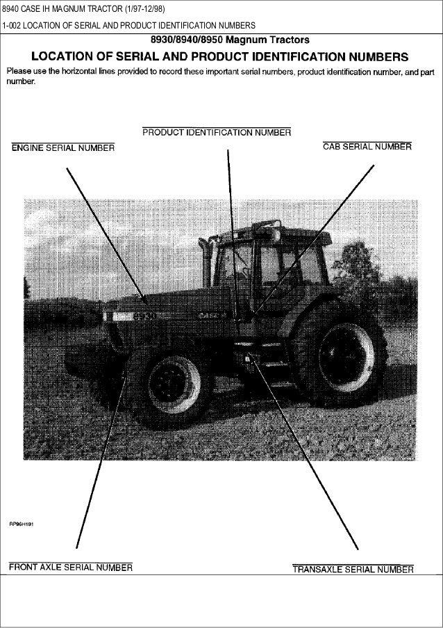 Combine Parts Of The Slideshow : Case ih magnum tractor parts catalog
