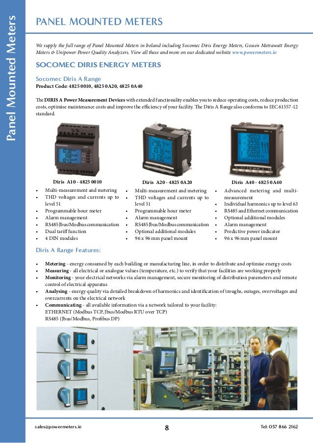 power meters brochure 10 638?cb=1454585129 power meters brochure socomec diris a20 wiring diagram at bayanpartner.co