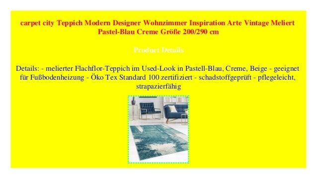Carpet City Teppich Modern Designer Wohnzimmer Inspiration Arte Vint