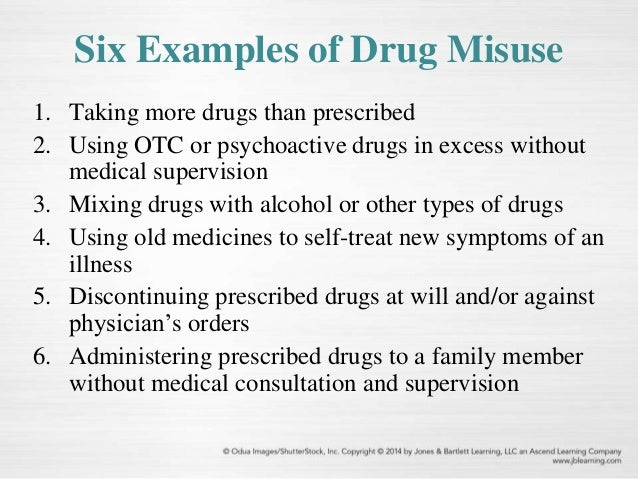 examples of drug abuse in society