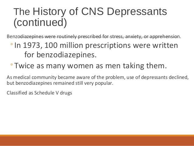 Chapter 6 Depressants