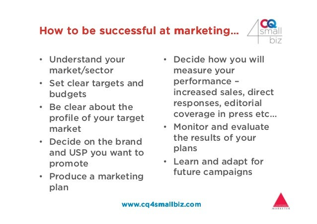 How to be successful at marketing…How to be successful at marketing…How to be successful at marketing…How to be successful...
