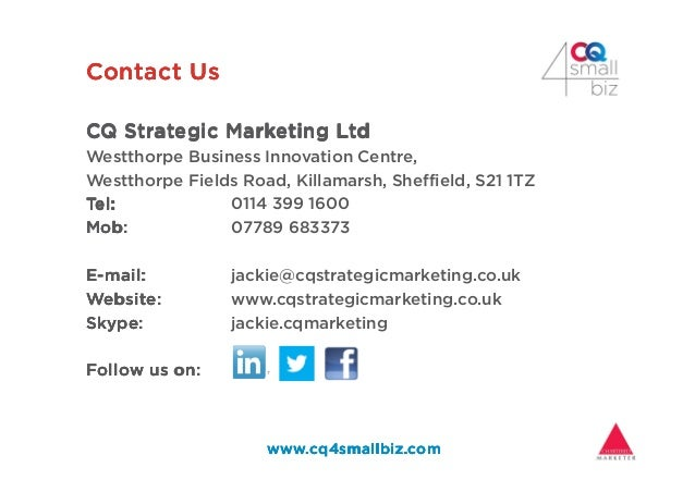 Contact UsContact UsContact UsContact Us CQ Strategic Marketing LtdCQ Strategic Marketing LtdCQ Strategic Marketing LtdCQ ...