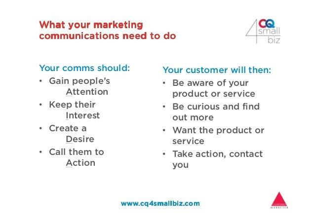 What your marketingWhat your marketingWhat your marketingWhat your marketing communications need to docommunications need ...