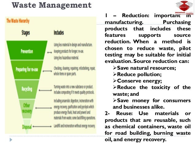 Oil & Gas industry Waste Management