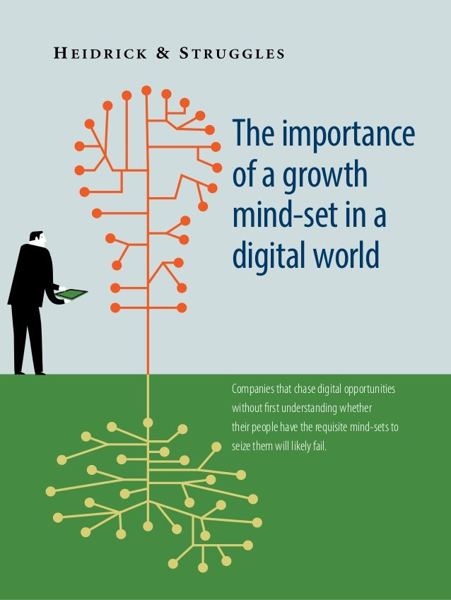 The importance of a growth mind-set in a digital world Companies that chase digital opportunities without first understand...