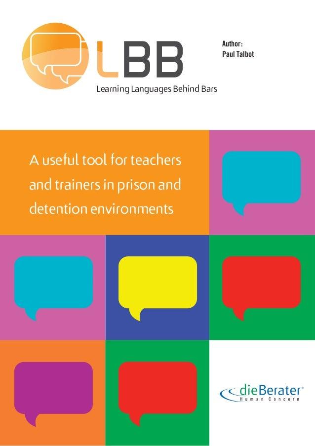 Learning Behind Bars >> Languages Behind Bars