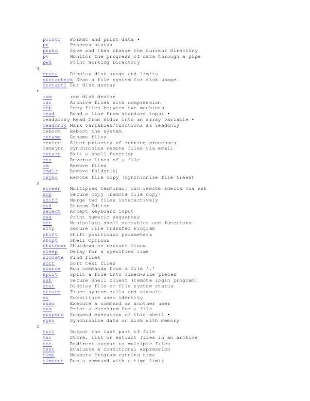 archive A-Z linux