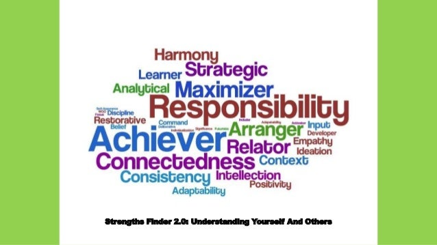 Strengths Finder 2.0: Understanding Yourself And Others