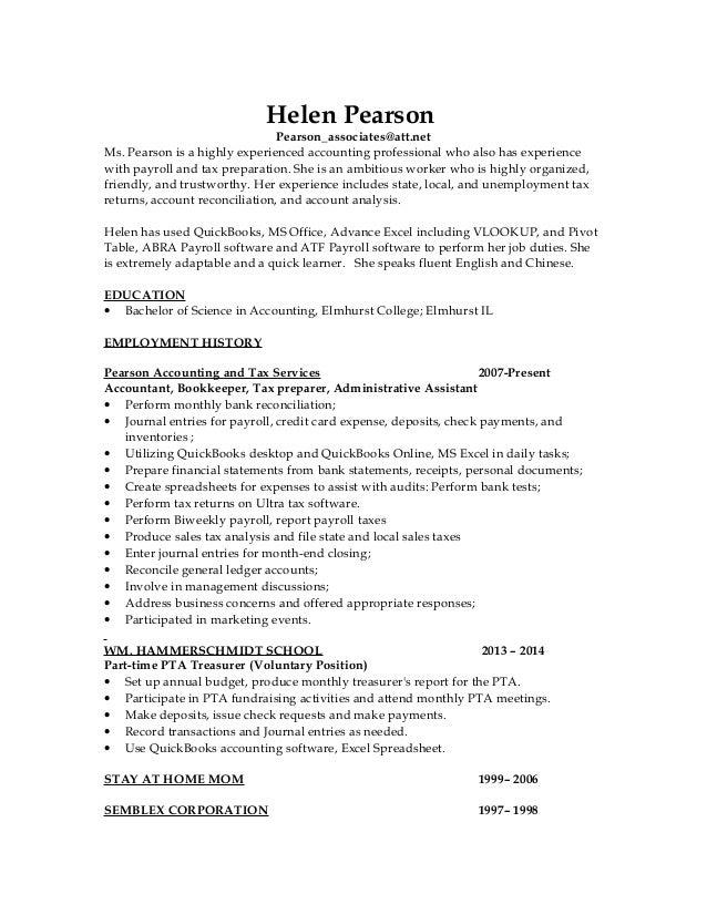 Pearson_Helen 2015 Revised Resume I