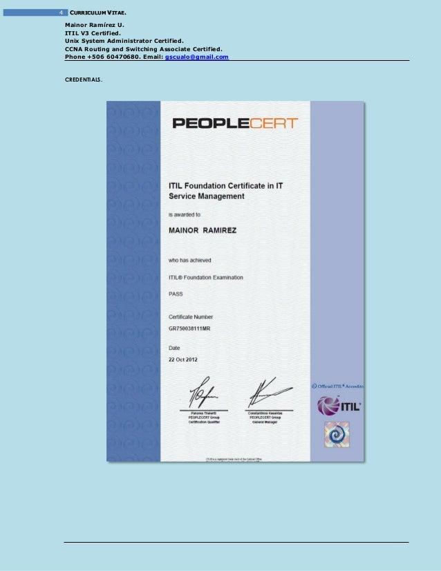 Resume - Mainor_Ramirez