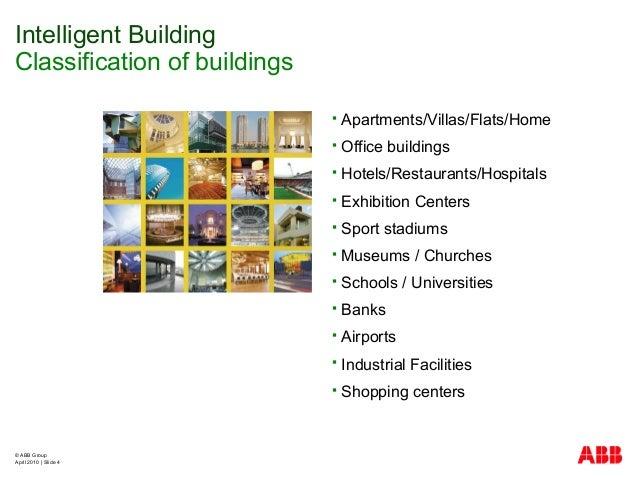 © ABB Group April 2010   Slide 4  Apartments/Villas/Flats/Home  Office buildings  Hotels/Restaurants/Hospitals  Exhibi...