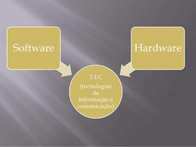 O que é TIC? Slide 2