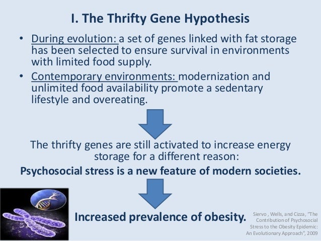 thrifty gene theory causes and effects Answer to: the thrifty gene theory suggests what by signing up, you'll get thousands of step-by-step solutions to your homework questions you can.