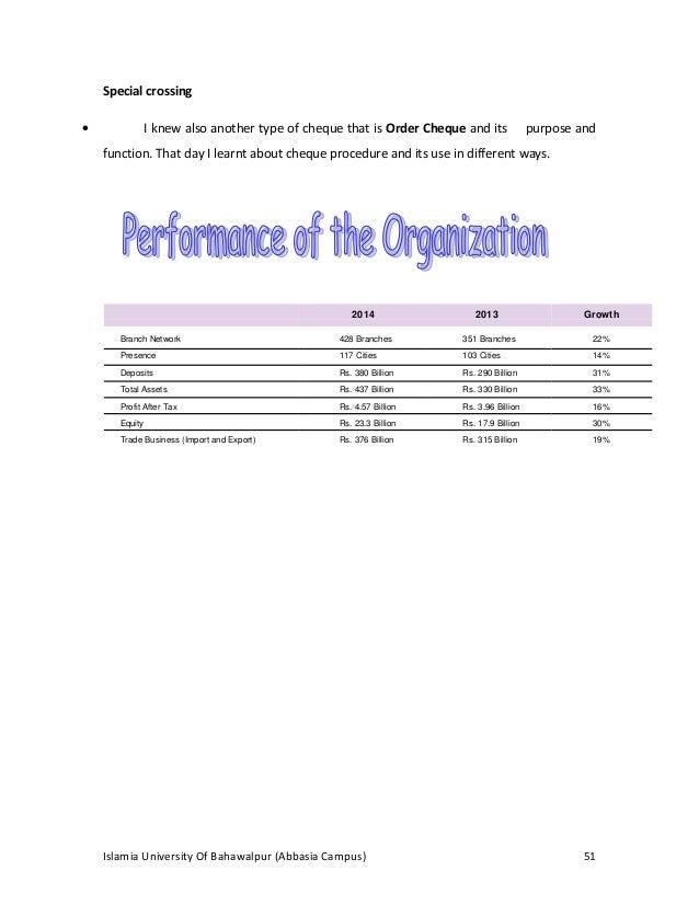 Hr internship report on meezan bank