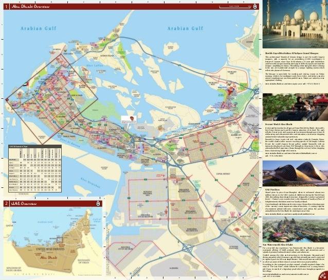 abu dhabi map 1 638 - Golf Gardens Abu Dhabi Location Map