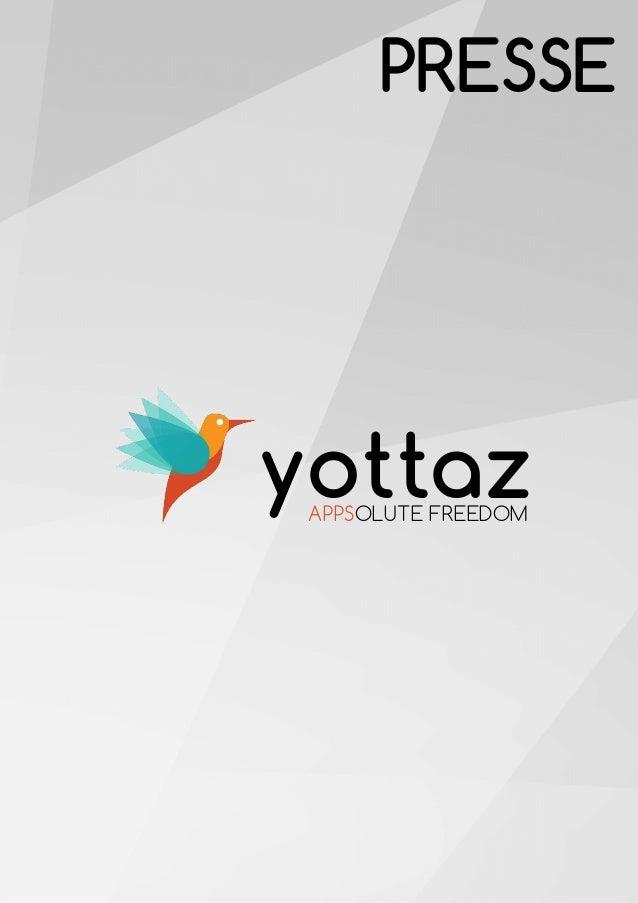 APPSOLUTE FREEDOM yottaz PRESSE