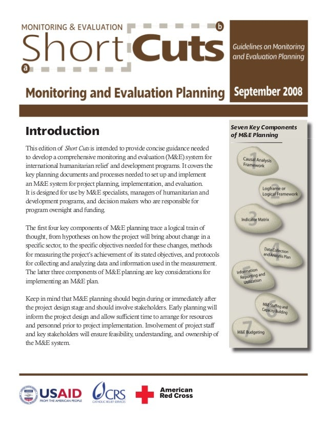 Introduction This edition of Short Cuts is intended to provide concise guidance needed to develop a comprehensive monitori...