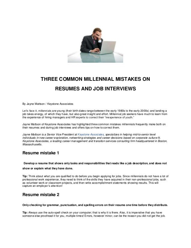 Punctuation In Resumes resume coveretter writing examples business salutation hd format Three Common Millennial Mistakes On Resumes And Job Interviews By Jayne Mattson Keystone Associates Lets