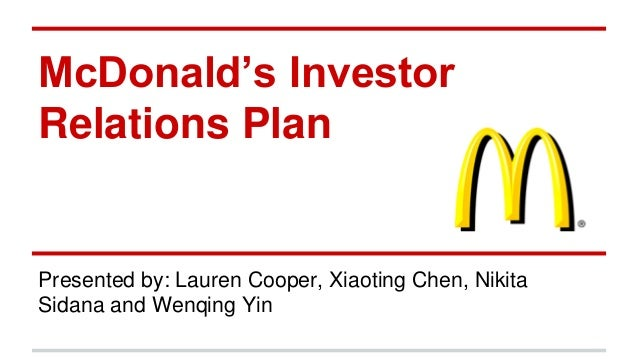 mcdonald s planning organizing What are the management functions at mcdonald's  mcdonald's introduction  many organisations require their managers to be involved with succession planning,.