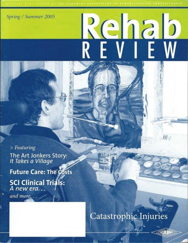 Rehab Review Spring Summer 2006 Art Jonker Story