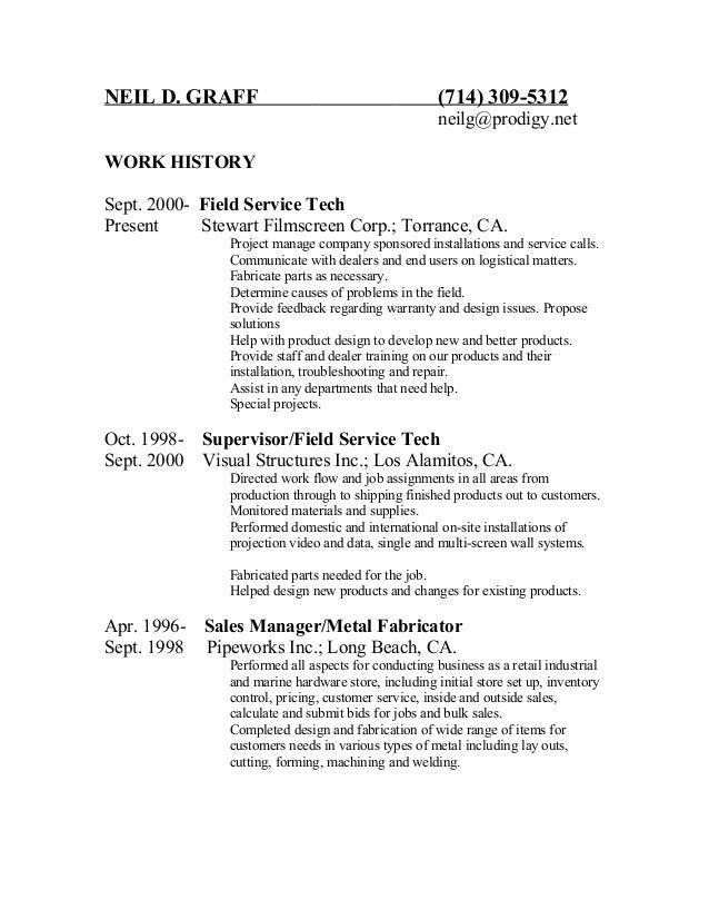 neil resume
