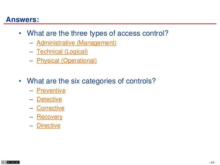 8 Access Control
