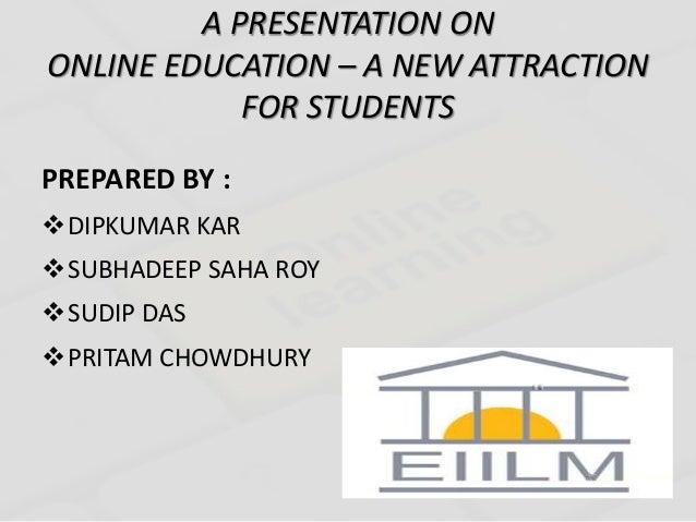 online education powerpoint presentation koni polycode co
