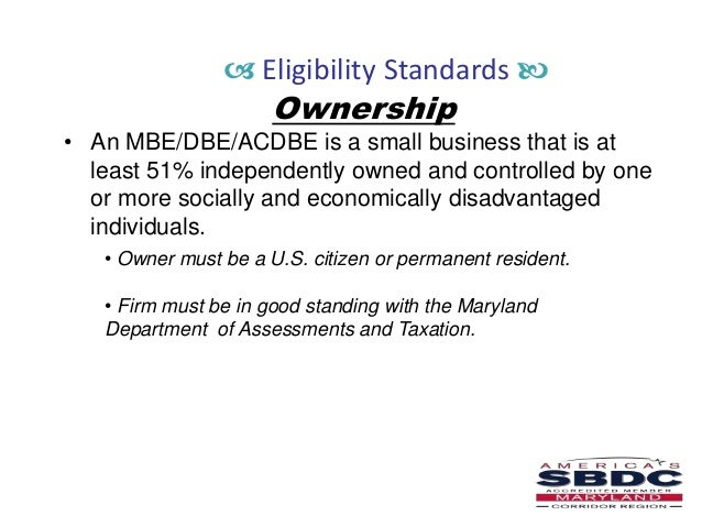 SBA 8(a) Certification for Veteran & Minority Businesses