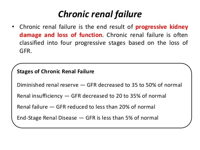 Chapter 34 acute renal failure and chronic kidney disease ppt.