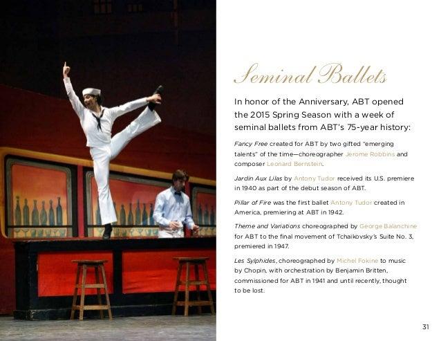 American ballet theatre for Antony tudor jardin aux lilas