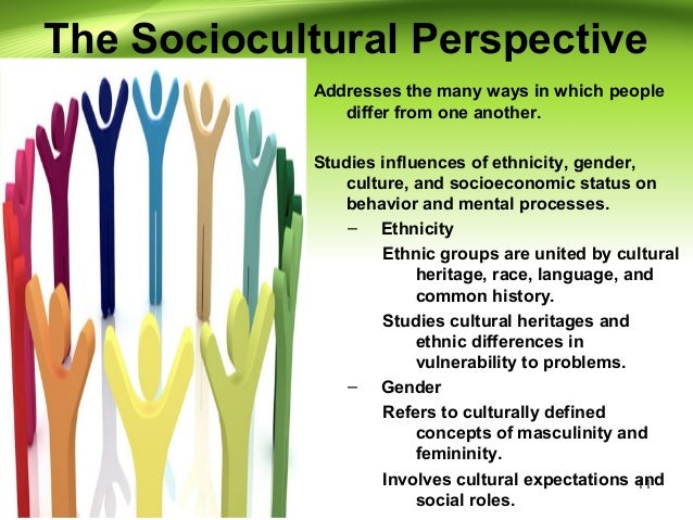 different perspectives in psychology coexist rather than conflict Lastly, the conflict perspective, introduced by karl marx, holds that society's evolution over time demands for competition to take place between different demographic groups where inequality.