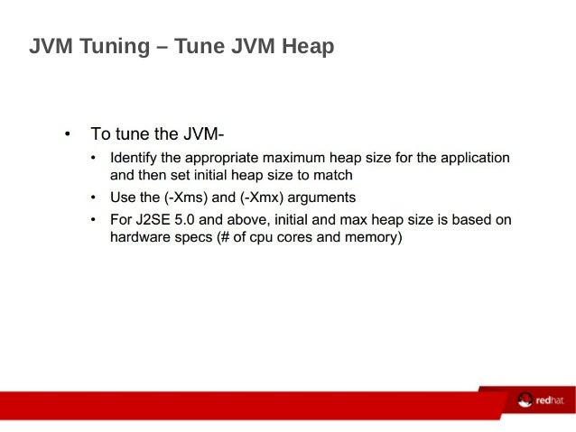 JVM Tuning – Tune JVM Heap ...