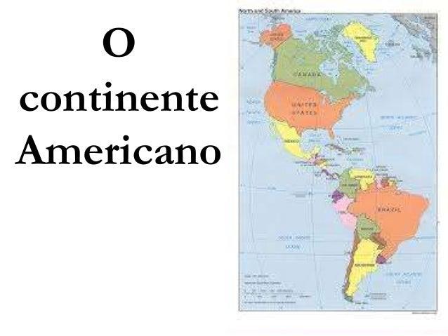 OcontinenteAmericano