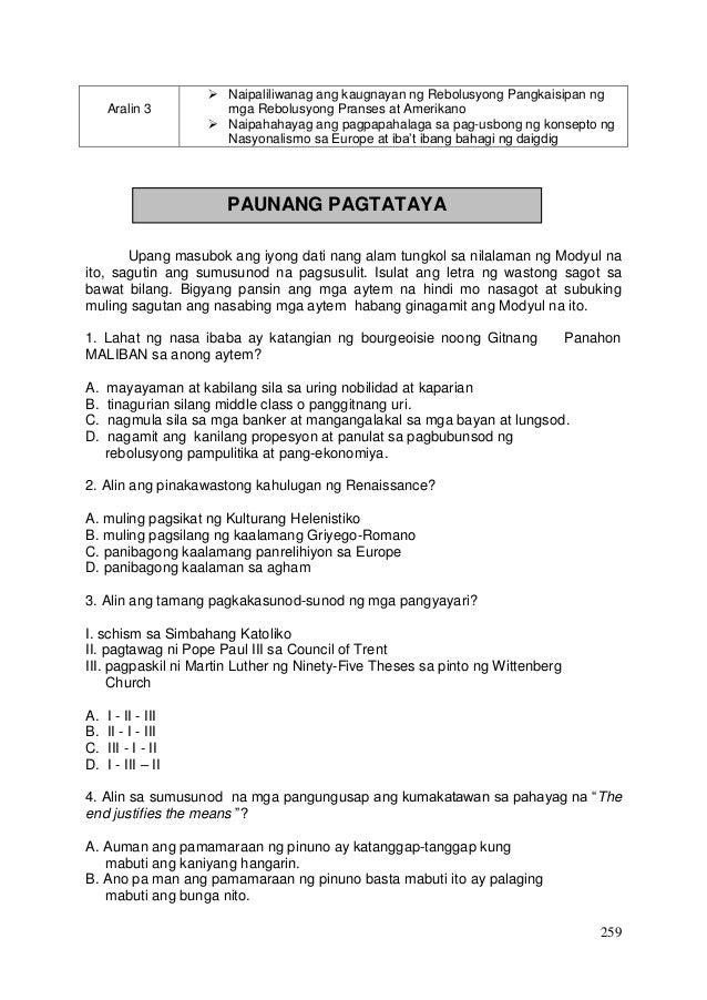 Kasaysayan ng Daigdig Araling Panlipunan Grade 9 THIRD QUARTER Slide 2