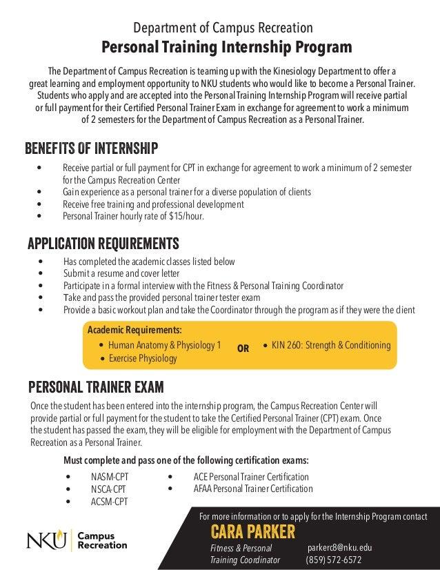PT Internship Info