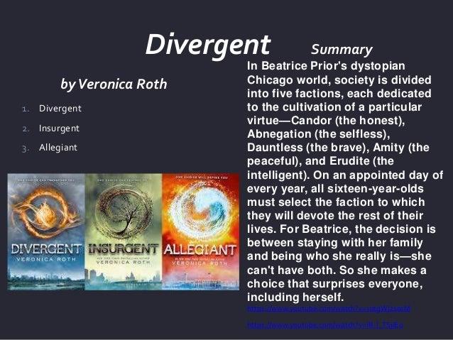 divergent novel summary