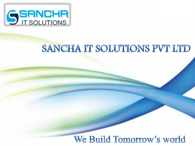 To emerge as a world class company and a chosen service provider in Content Management and Enterprise Solutions. Sancha is...