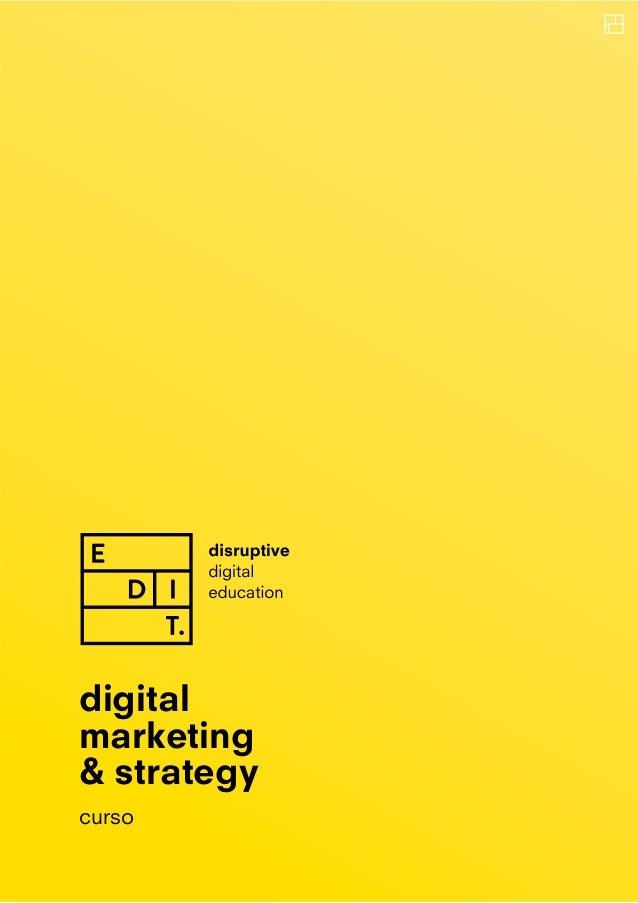 digital marketing & strategy curso