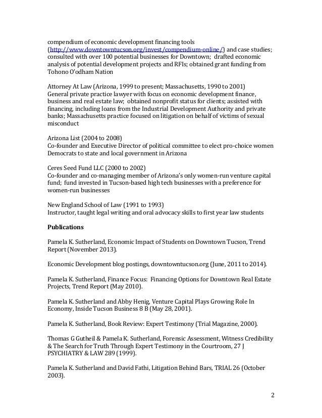Public Defender Resume .