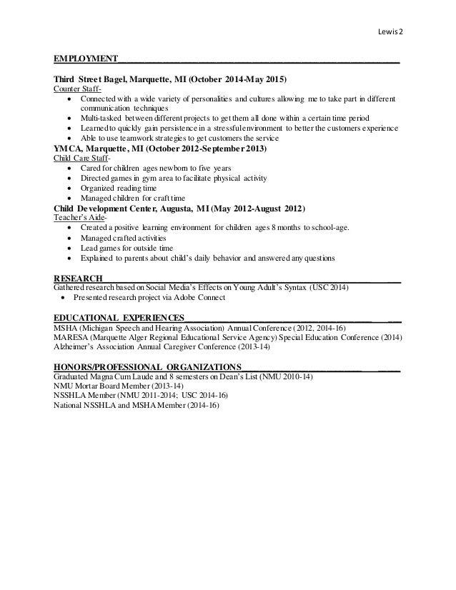 nlewis resume
