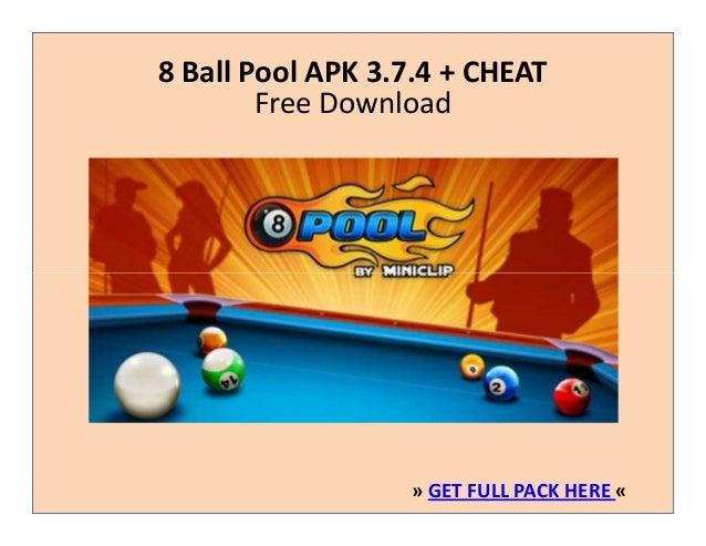 8 Ball Pool 3 7 4 Apk Cheat Free Download