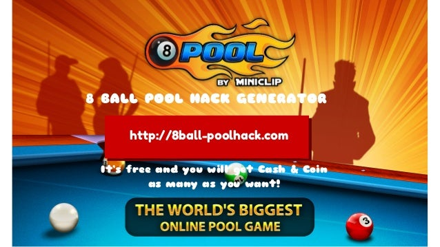 8 Ball Pool Hack Generator