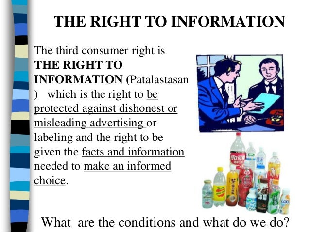 the eight basic research consumer rights Cuts centre for consumer action research and training (cart)  six of these eight rights:  the enability of consumer rights, the right to basic needs.