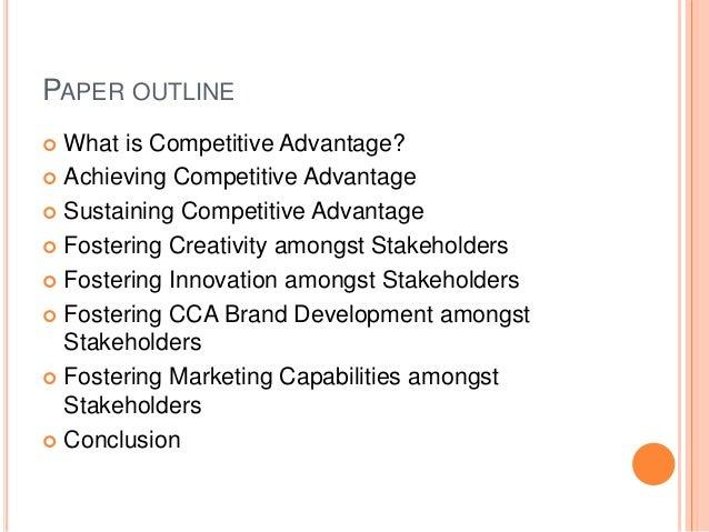 Sustaining competitive advantage of nestle marketing essay