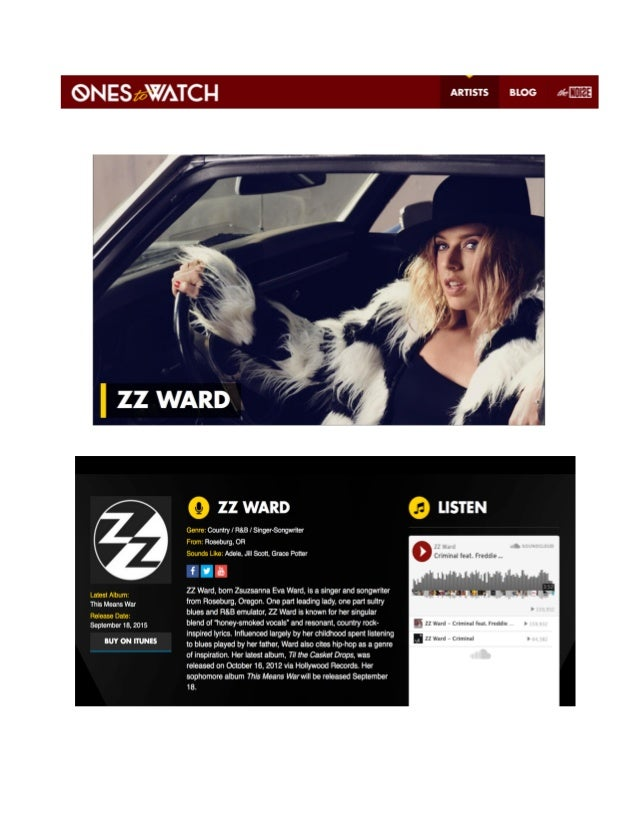 ZZ WARD KIT DRAFT