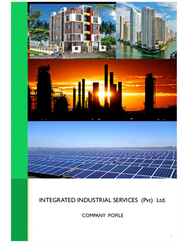 INTEGRATED INDUSTRIAL SERVICES (Pvt) Ltd. COMPANY POFILE 1