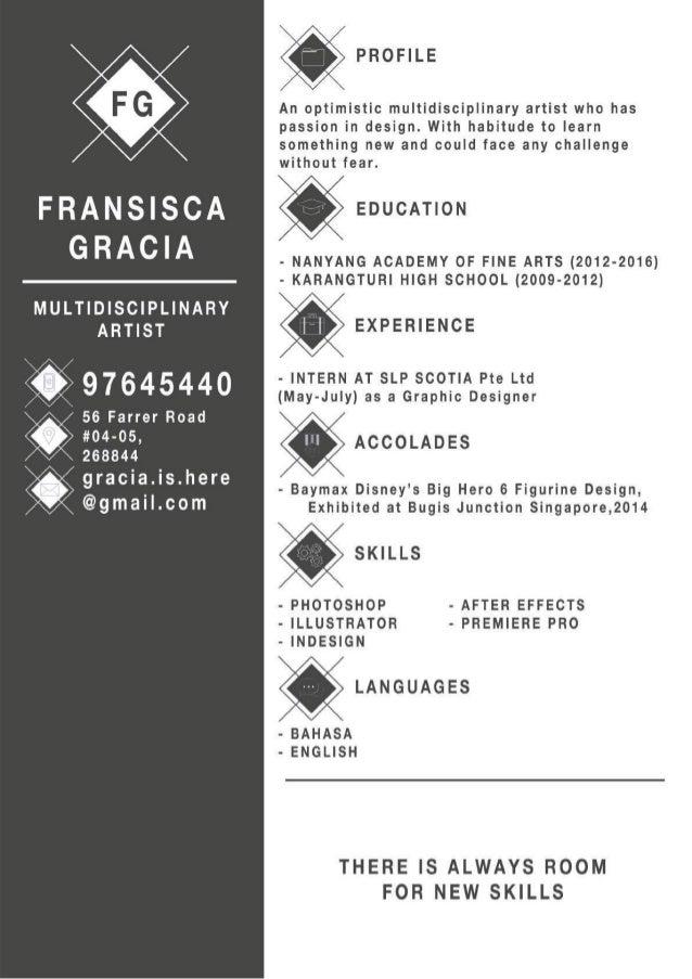 Gracia Resume Portfolio