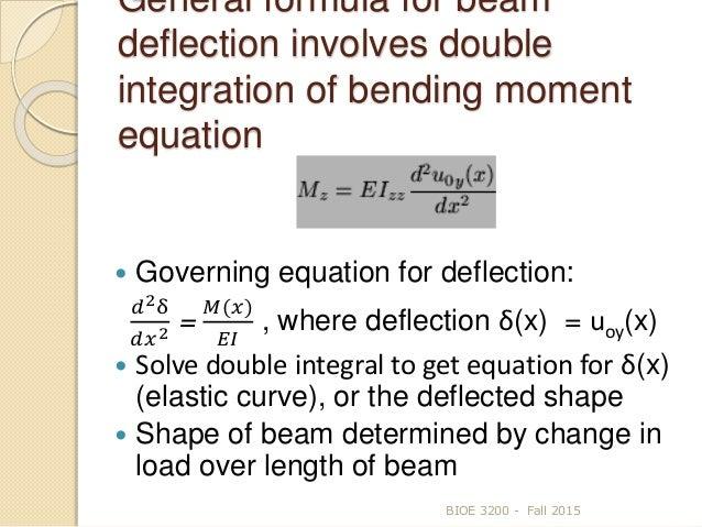 8 beam deflection